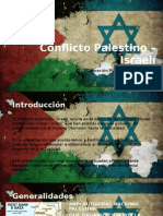 Conflicto Palestino – Israelí