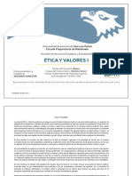 Ética y Valores i