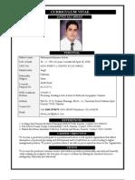 Resume Patterns