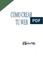 Como Crear Tu Web