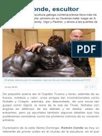 ramn conde escultor