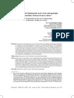Bourdieu, P. Los Modos de Dominación en La Socio-Antropología
