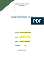 Transformacion de Datun