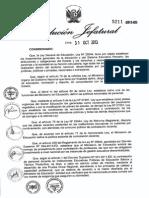 Contrato Docente 2014- Resolucion Jefatural Ndeg 5211-2013-Ed