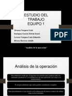 Análisis de La Operación