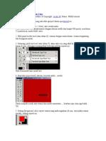 Photoshop Membuat Efek API Pada Teks