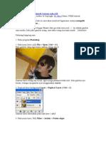 Photoshop  Mengubah Gambar Menjadi Cartoon Code