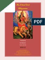 Devi Bhagavattam Book 10