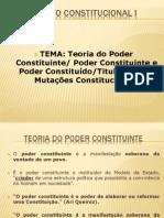 Aula 05 Teoria Do Poder Constituinte