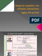 El Imperio Español y Las Colonias Americanas