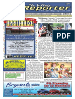 The Village Reporter - August 13th, 2014
