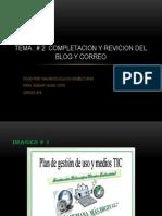 TEMA # 2 REVICION DE BLOG Y COREO (1).pptx