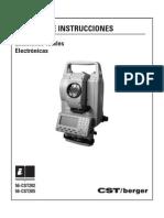 Cst Estacion Total Cst-205-Manual