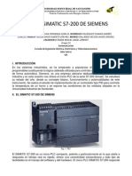 Siemens s7-200 Simatic