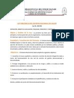 Politicas de Salud en Ecuador 2