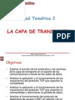 4. La Capa de Transporte