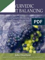 Weight Balancing eBook John Douillard
