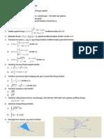 kisi-kisi UAS matematika dasar