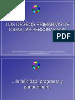 2.1. Deseos Primarios de Las Personas.