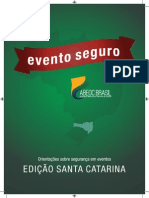 Cartilha Evento Seguro