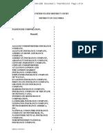 NATIONAL RAILROAD PASSENGER CORPORATION v. ALLIANZ UNDERWRITERS INSURANCE COMPANY et al complaint