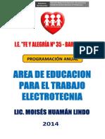 PROGRAMACION ANUAL DE ELECTROTECNIA - 2014 - FINAL2.docx