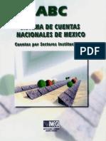 ABC Sistema de Cuentas Nacionales - Cuentas Por Sectores Institucionales
