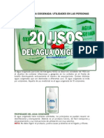 20 Usos Del Agua Oxigenada