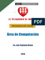 ORIENTACION DE PROGRAMACION ANUAL 2014.docx