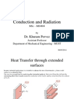 Conduction and Radiation-Lecture 6-9