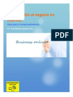 Ebook Introducción al negocio en Internet