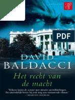 Het Recht Van de Macht _ Druk 1 - David Baldacci