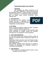Cal-p II Concuso de Contos-bunkyo
