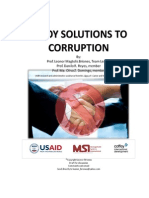 Prof Briones Report_Pinoy Solutions to Corruption1
