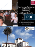 How Foreign Assistance Undermines Democracy