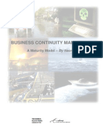 Business Continuity Management _ a Maturity Model[1]