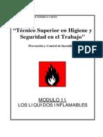 Modulo I-11 - Los Liquidos Inflamables