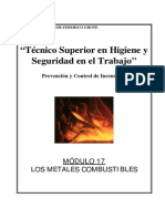Modulo I-17 - Metales Combustibles