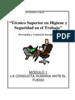 Modulo II-01 - Conducta Humana Ante El Fuego