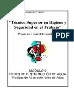 Modulo II-09 - Redes de Agua-Pruebas de Abastec