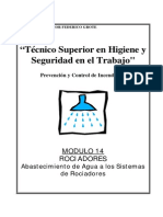 Modulo II-14 - Rociadores-Abastecimiento Agua