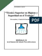Modulo II-15 - Sistemas de Agua Pulverizada