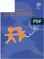 337. Invertir en La Familia Estudio Sobre Factores Preventivos y de Vulnerabilidad Al Trabajo Infantil Doméstico en Familias Rurales y Urbanas de Colombia, Paraguay y Perú.