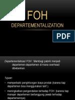 FOH Departementalisasi