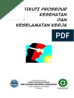 Modul Menerapkan Prosedur K3 Tempat Kerja - Siswa