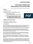 BU Guide to Citation and Referencing Harvard Style