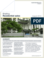Savills SG Residential Sales Briefing Q2-2014