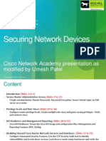 Chapter 2 Securing Network Devices
