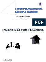 Personal and Professional WPERSONAL AND PROFESSIONAL WELFARE OF A TEACHER.pptelfare of a Teacher