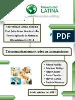 Trabajo #4 - Telecomunicaciones y Redes